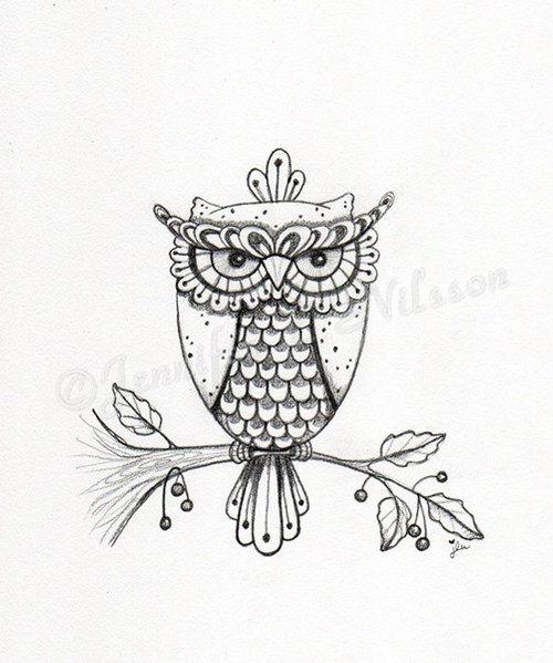 Drawn owl we heart it #14