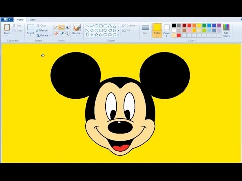 Drawn paint  in How YouTube MS