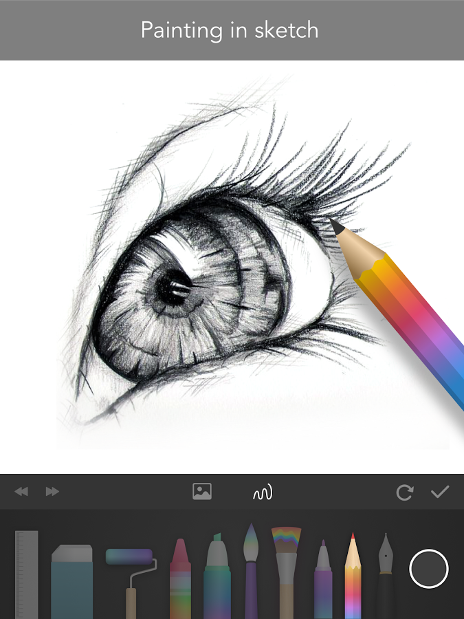 Drawn painting Draw Google Sketchbook Android on