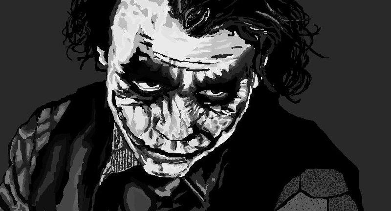 Drawn paint Joker Joker MessyPandas drawn by