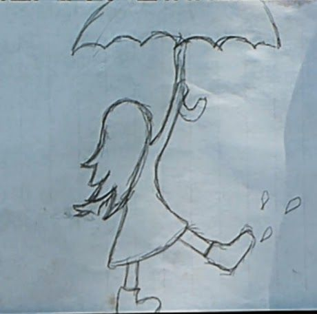 Drawn rain easy Best Beginners on for Painting