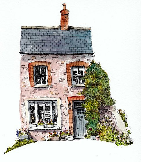 Drawn painting house Best on stool! 25+ drawing