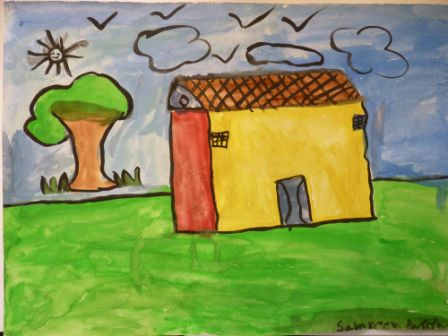 Drawn painting house World Paint 20 PAINTING Paintings