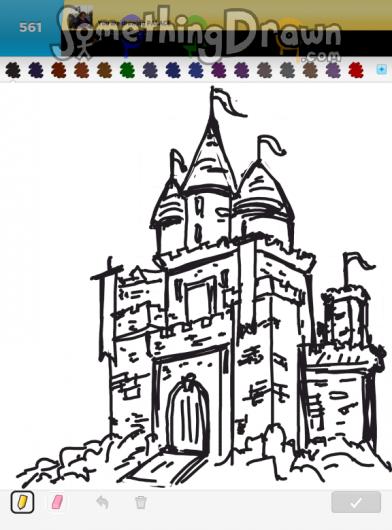 Drawn palace #2