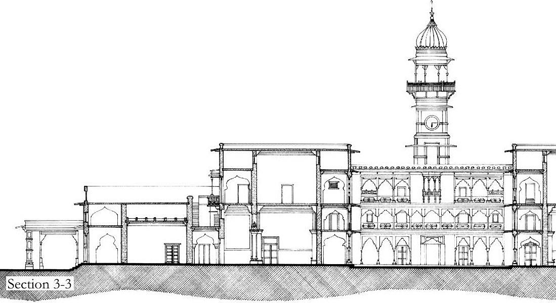 Drawn palace #7