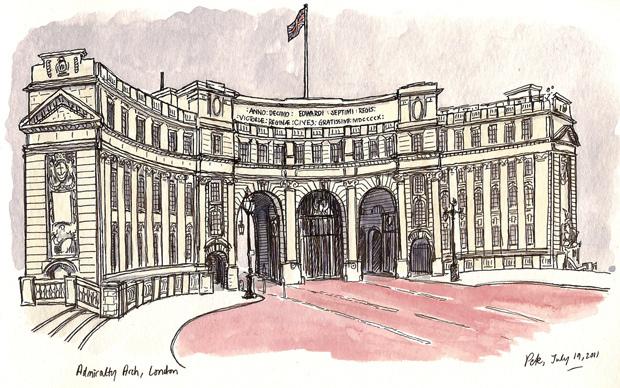 Drawn palace #11