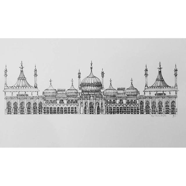 Drawn palace #9