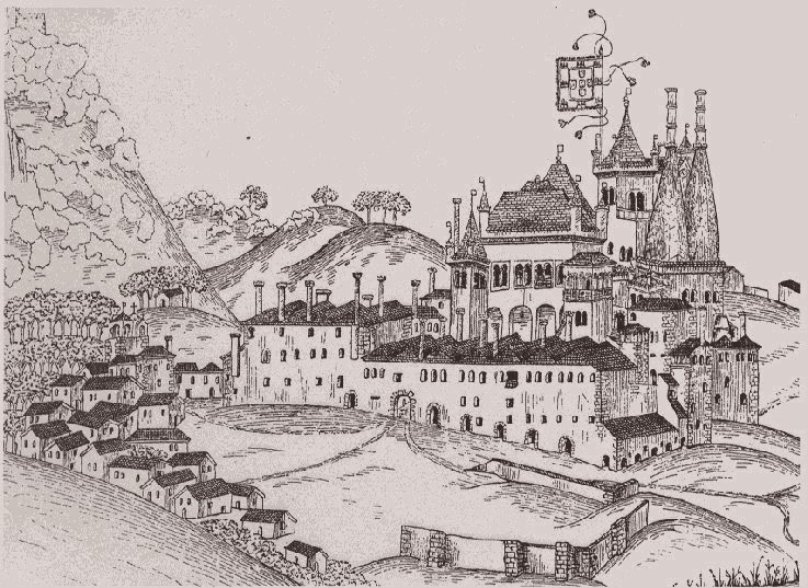 Drawn palace #4
