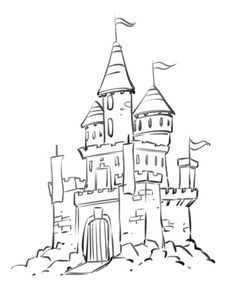Drawn palace Castle Pages http://www palace