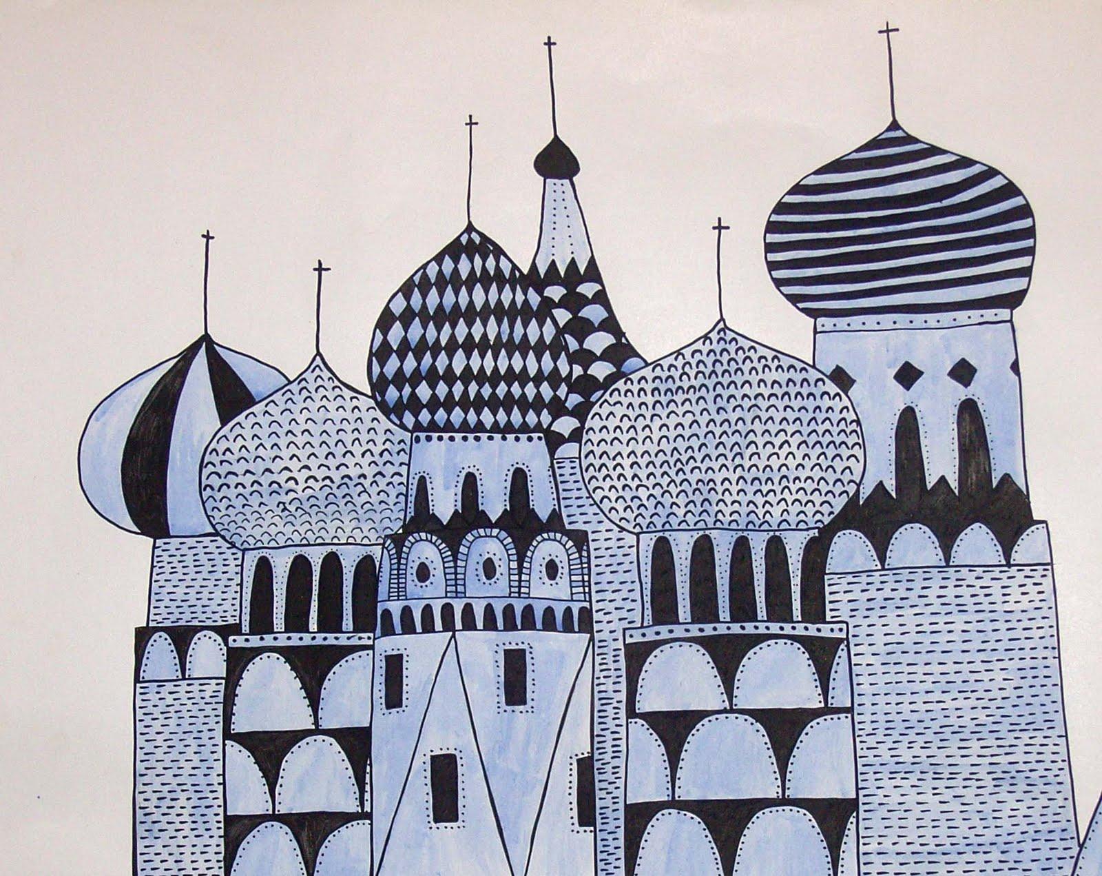 Drawn palace #5