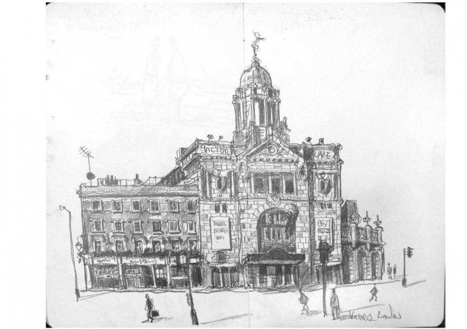 Drawn palace #8