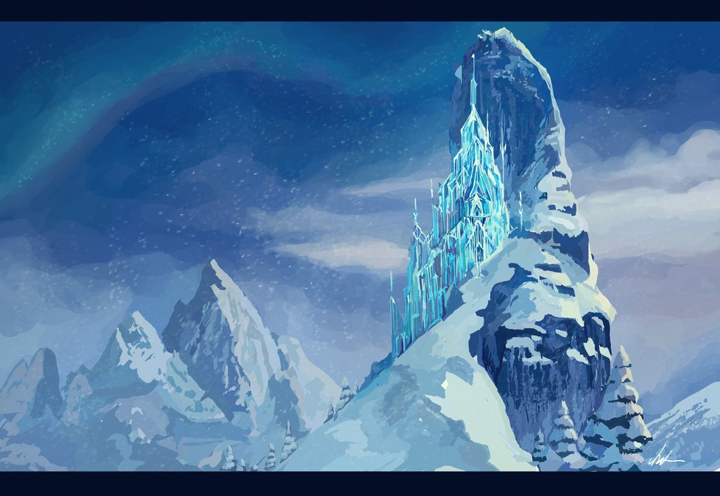 Drawn palace arendelle castle Playbuzz Match Her To Disney