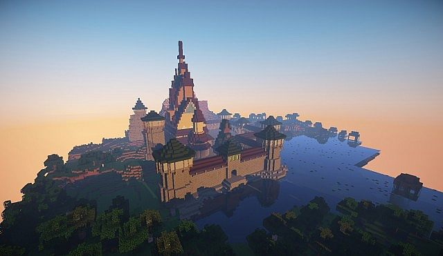 Drawn palace arendelle castle Minecraft diamonds Arendelle + Ice