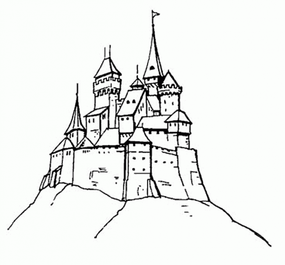 Drawn palace arendelle castle Castle ice free pages pages