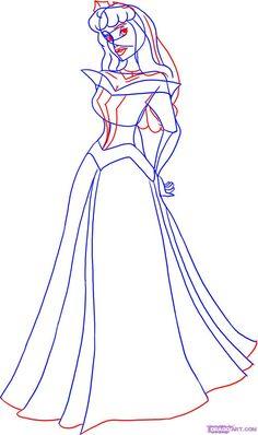Drawn palace barbie ! Disney to Princesses Adormecida