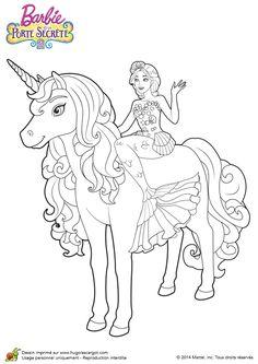 Drawn palace barbie Mermaid la secrète com et