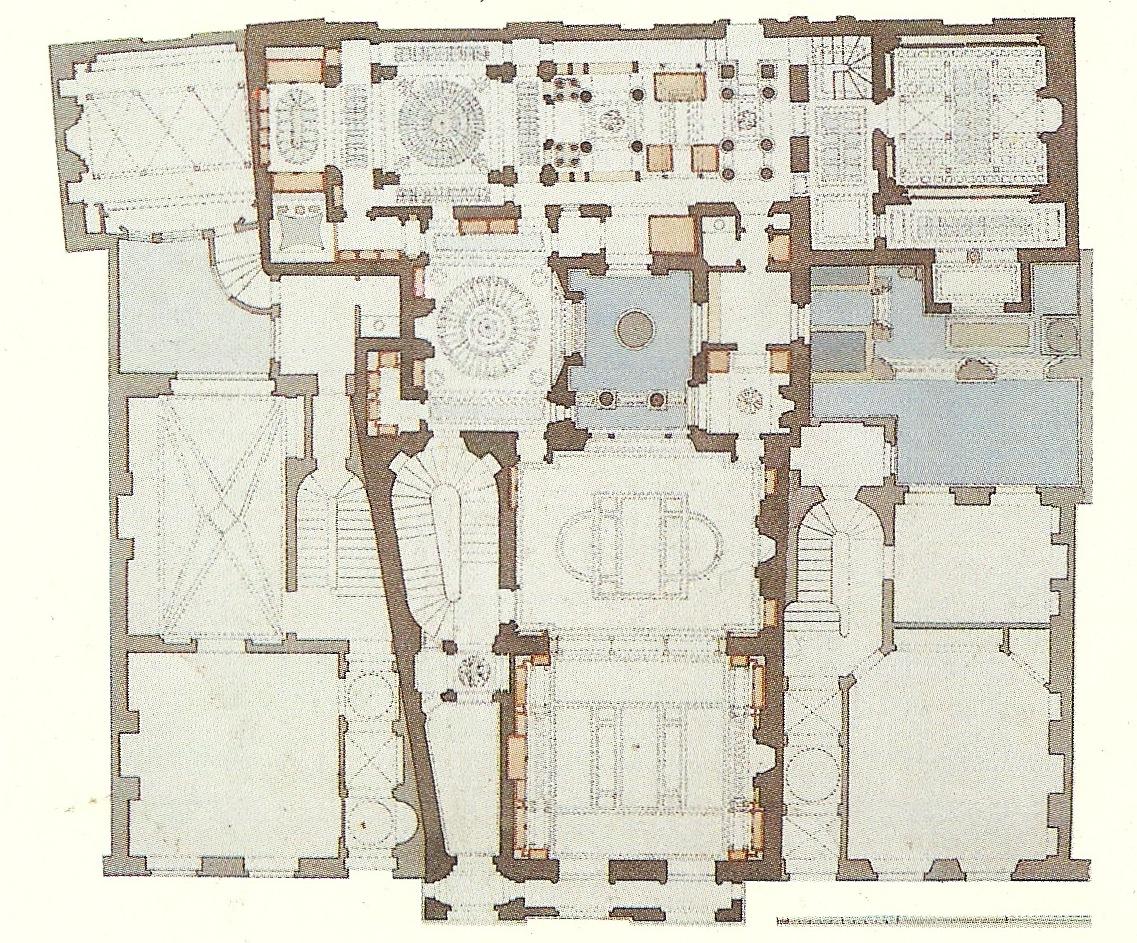 Drawn palace john soane Planta John Architecture Pinterest Dibuix