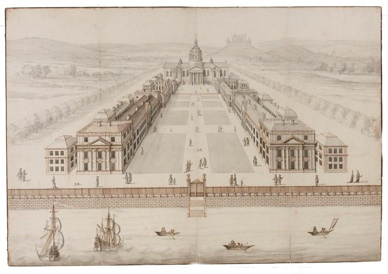 Drawn palace john soane As + Sir John Client