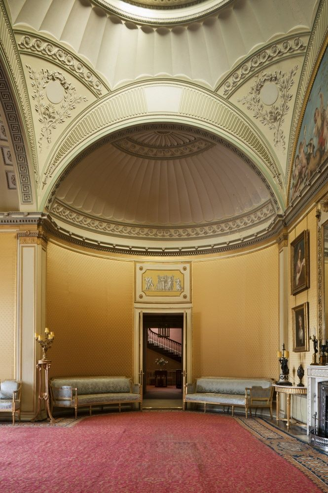 Drawn palace john soane Room about pendentive images Pinterest