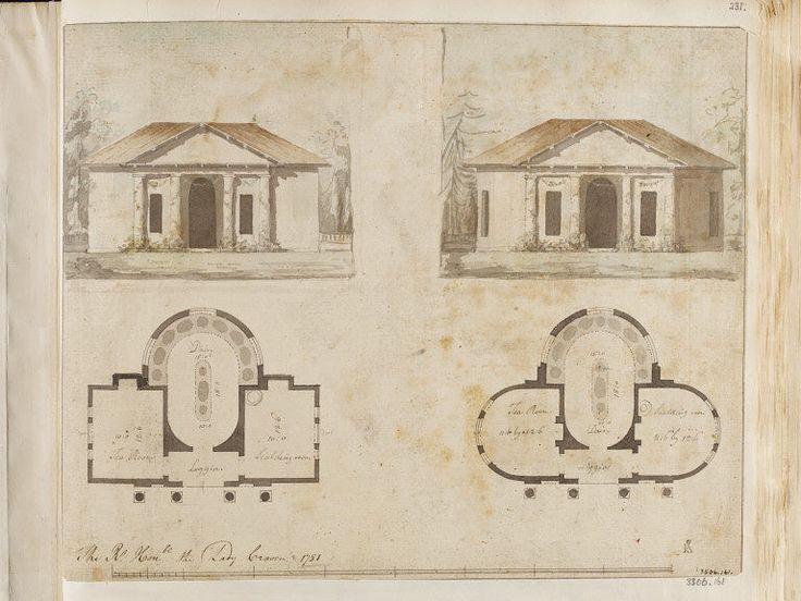 Drawn palace john soane Sir Pinterest Drawing on Architect