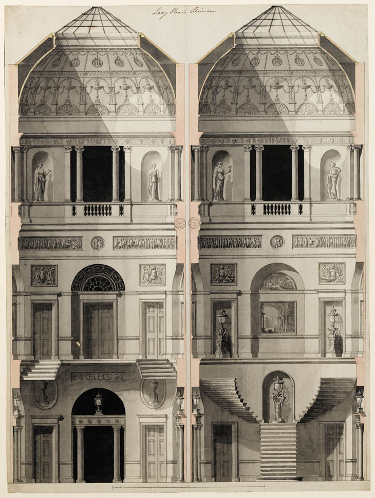 Drawn palace john soane London