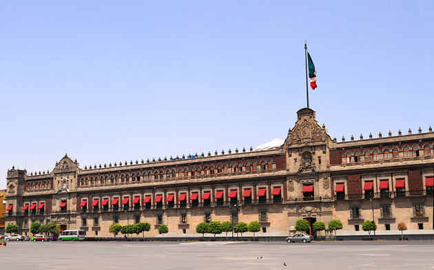 Drawn palace mexico city City Attractions National 14 Palace