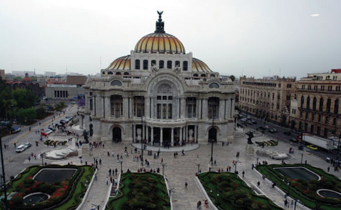 Drawn palace mexico city Luxurious still Mexico this Photo