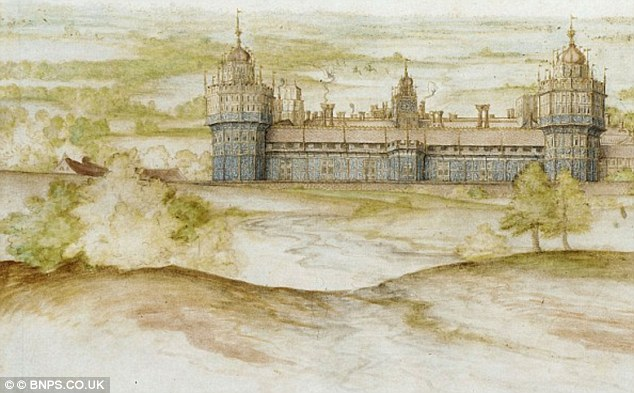 Drawn palace nonsuch As lost four 1752 300