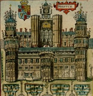 Drawn palace nonsuch With Palace 1610 principal Speed's