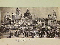 Drawn palace sydney garden At International Garden (1879) Wikipedia