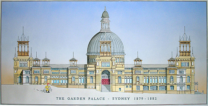 Drawn palace sydney garden Know Day on sydneys was