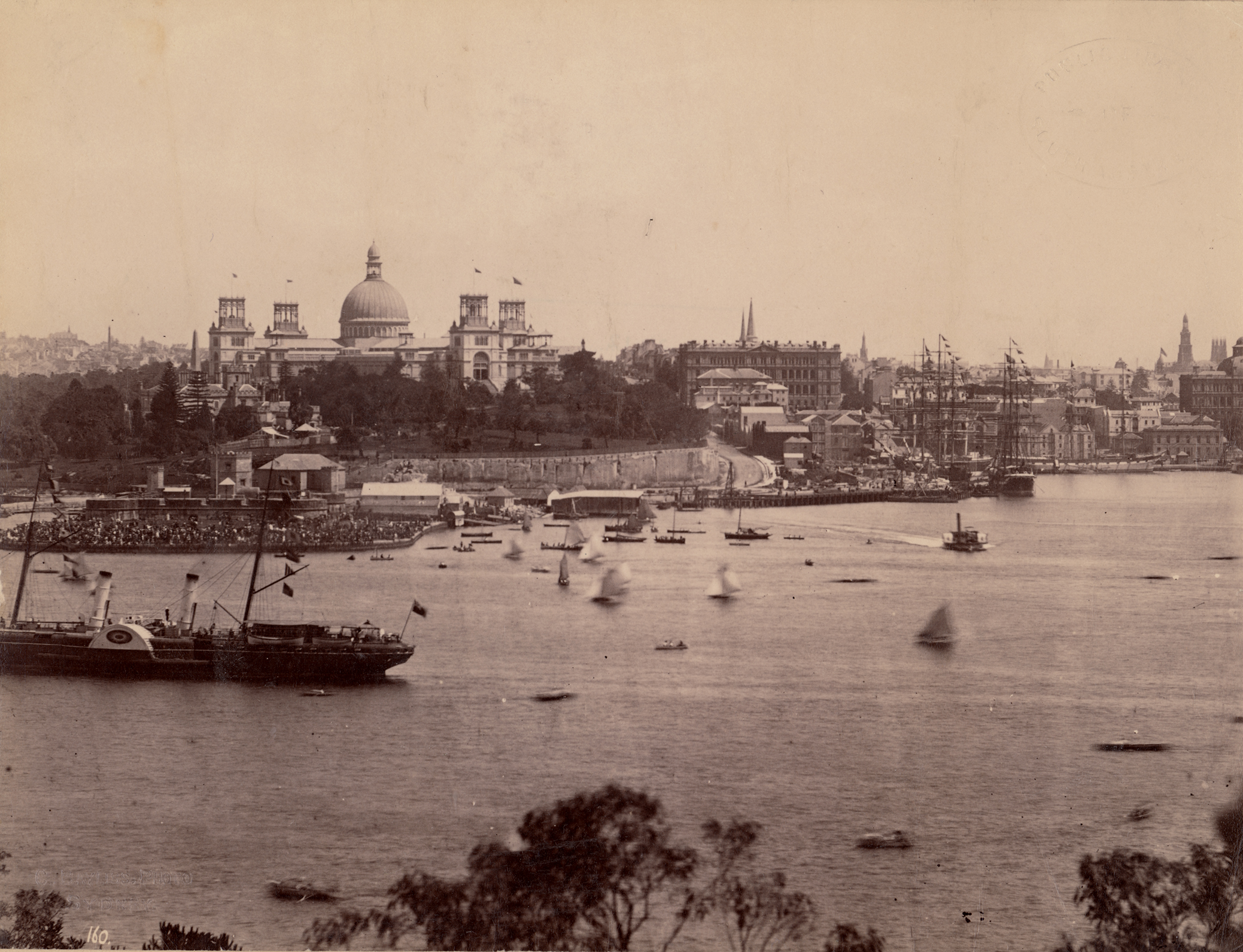 Drawn palace sydney garden Photograph Stories Garden from construction