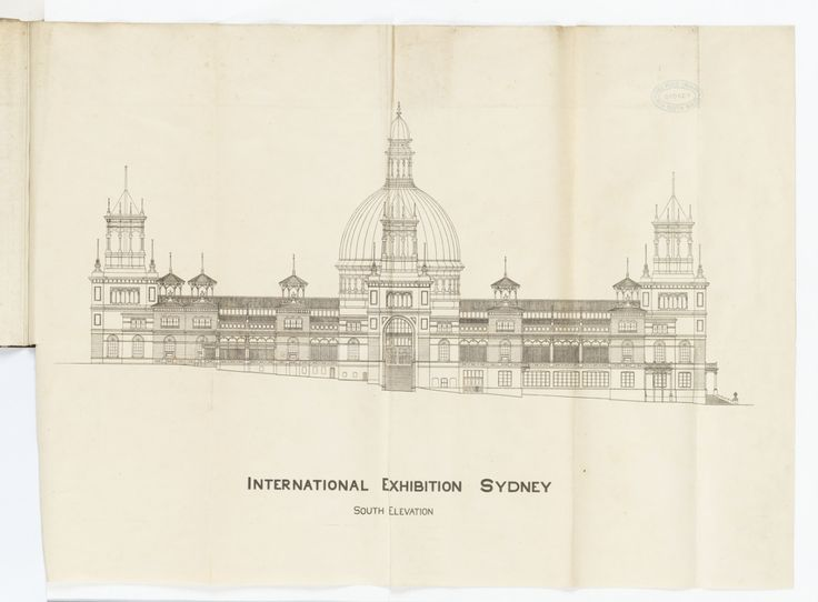 Drawn palace sydney garden Palace Exhibition 17th Pinterest Sydney