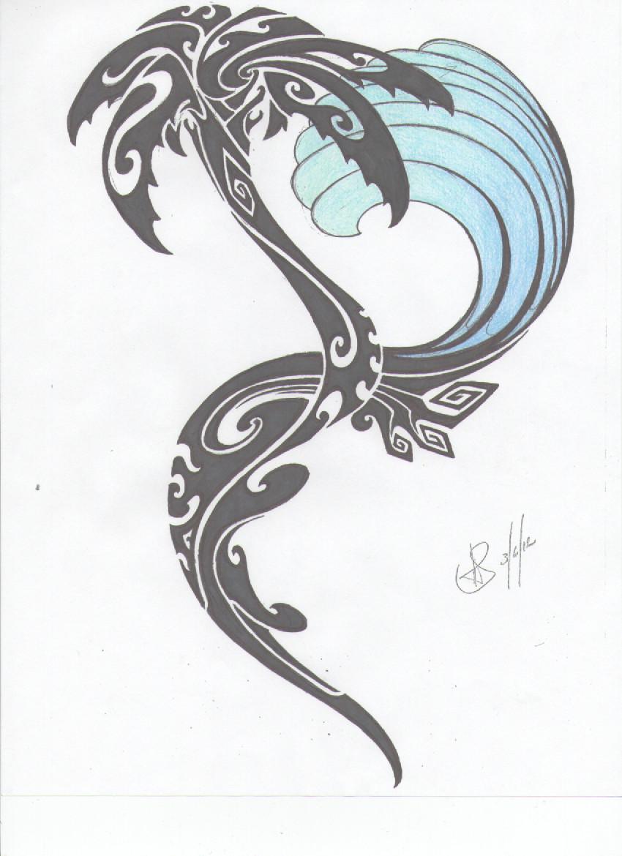 Drawn palm tree abstract #1