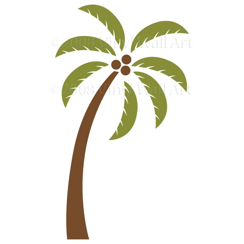 Palm Tree clipart curved Art tree free Palm clip