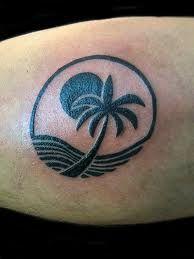 Drawn palm tree tribal Tree ear+Tattoo tattoo Search Tree