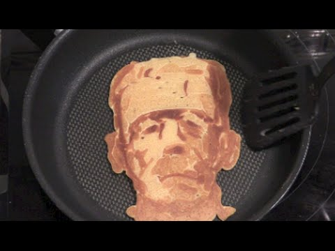 Drawn pancake To Frankenstein Draw YouTube