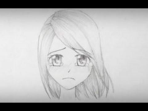 Drawn sad sad face How From Manga How Search