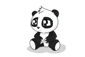Drawn panda To Draw Cute How DrawingNow