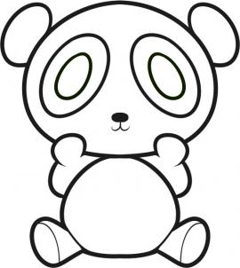 Drawn panda Draw How draw Step Hellokids