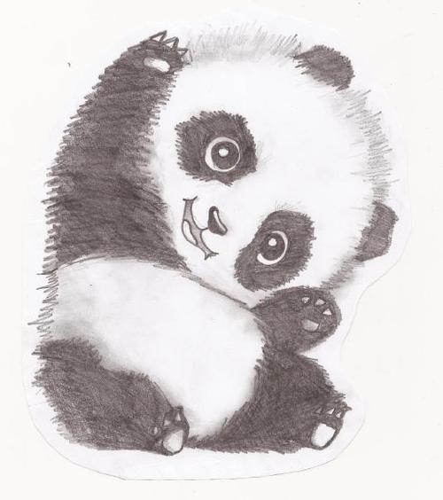 Drawn panda My 25+ talk my okay