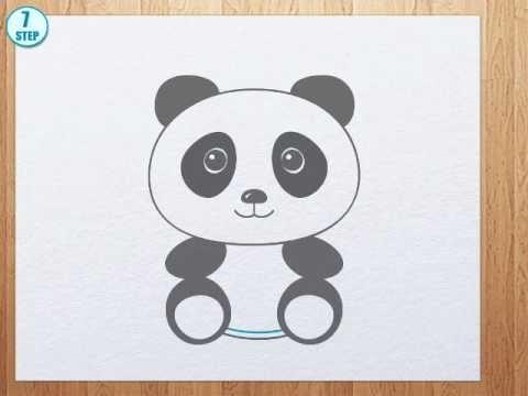 Drawn panda To draw panda How YouTube