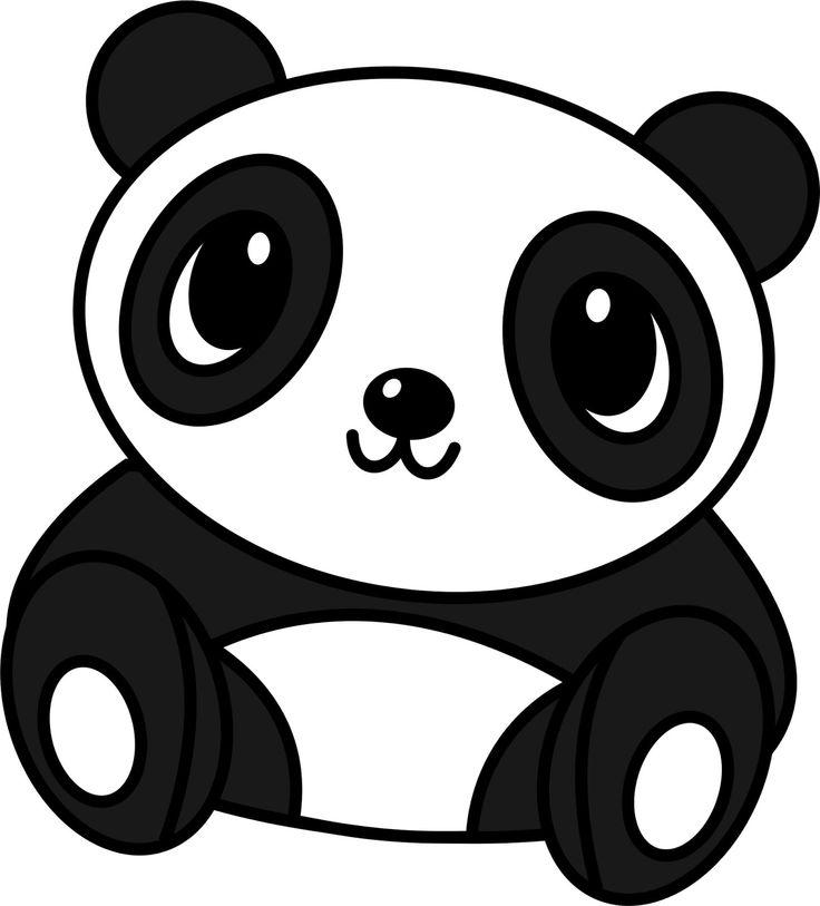 Drawn panda It drawing Drawings drawing Cute