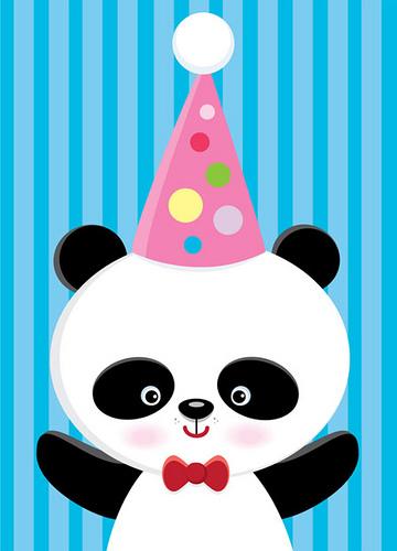 Cards clipart chinese panda Maruyama Birthday Card Card Flickr