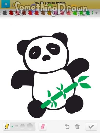 Drawn panda detail SomethingDrawn PANDA by Draw com
