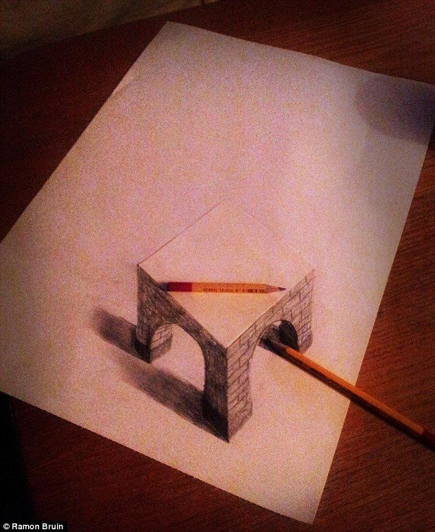 Drawn 3d art beginner A 25+ ideas amazing 3d