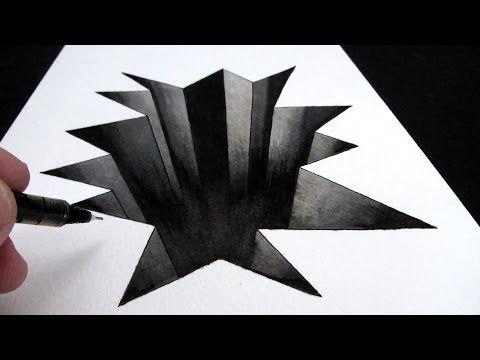 Drawn paper 3d art Ideas a Paper Draw Narrated