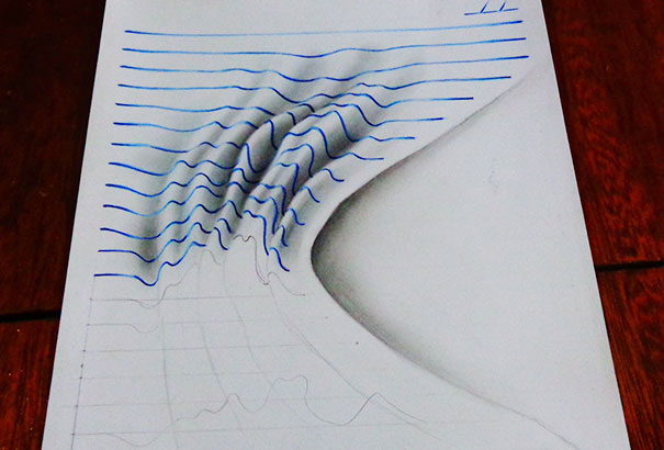 3D Lined Drawings Year Paper