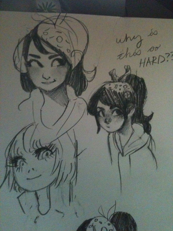 Drawn paper anime #6