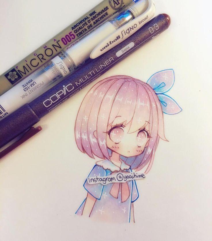 Drawn paper anime #9